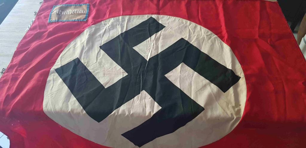 Drapeau NSDAP Ortsgruppe de la ville de Litzelstetten : estimation 20200845