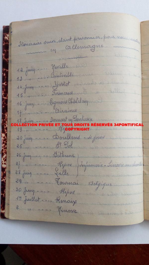 Après la défaite de juin 1940 : direction vers le Stalag Img_2248