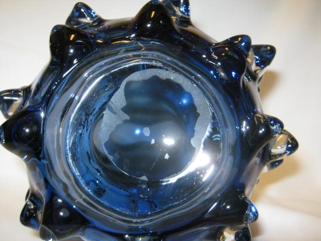 Bizarre Blue Glass Vase Glass_14