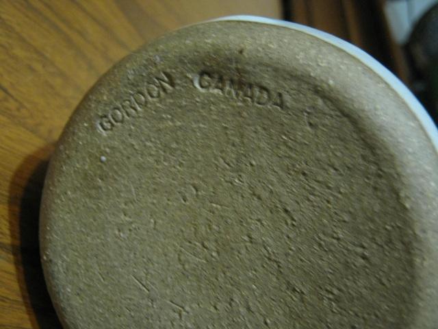 Gordon Pottery (Canada) Potter15