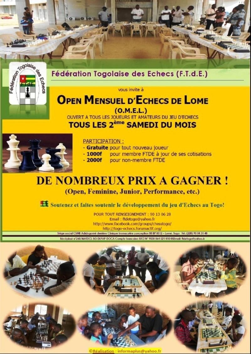 OMEL 8 (8ème Open Mensuel d'Echecs de Lomé) Flyer_10
