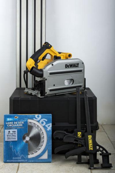 [VENDUE] Scie circulaire plongeante DEWALT DWS520K + accessoires Dsc_0110