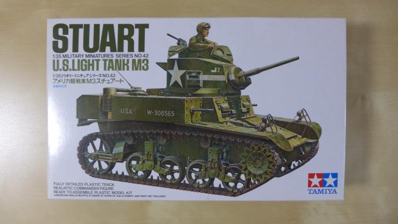 U.S. Light Tank M3 Stuart von TAMIYA P1000517