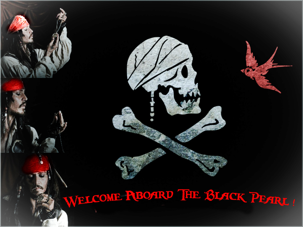 Black Pearl,  a ship which is  freedom