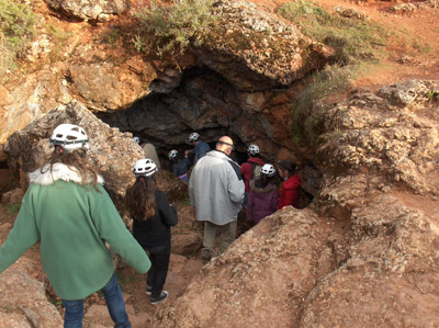 Senderismo y espeleología: 9 y 10 de noviembre 2013 - Lagunas de Ruidera y Cueva de Montesinos - Página 2 Cueva_11