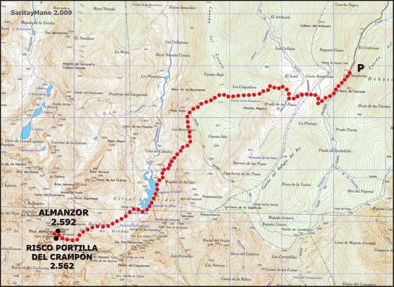 Montañismo: 26 y 27 de octubre 2013 - Ascensión al Almanzor - Página 2 Plataf10