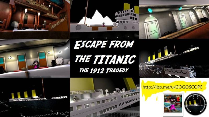 TITANIC en Jeu Vidéo (LittlebigPlanet 2) PS3 19500610