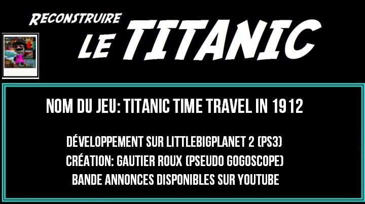 TITANIC en Jeu Vidéo (LittlebigPlanet 2) PS3 22586210
