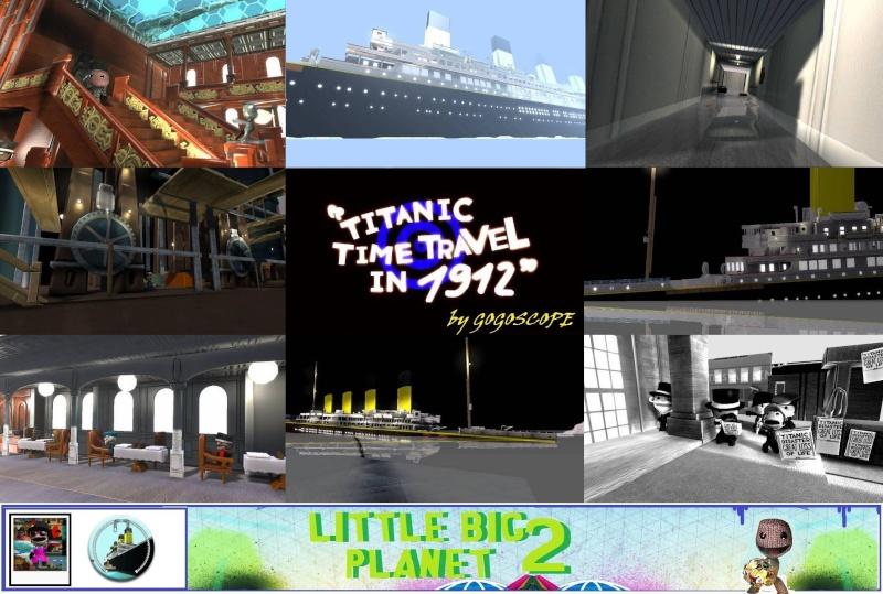 TITANIC en Jeu Vidéo (LittlebigPlanet 2) PS3 41485210