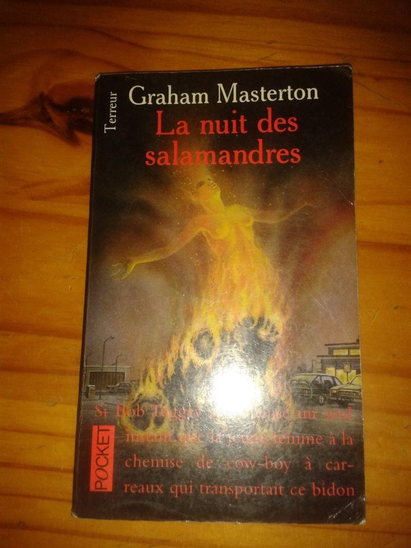 Livre: la nuit des salamandre (terreur) 2013-034