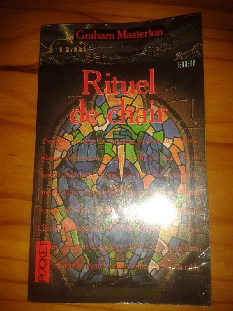 Livre: rituel de chair (terreur) 2013-035