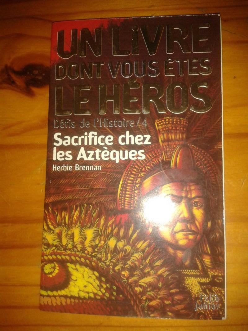Livre dont vous êtes le héro: Sacrifice chez les aztèques 2013-040