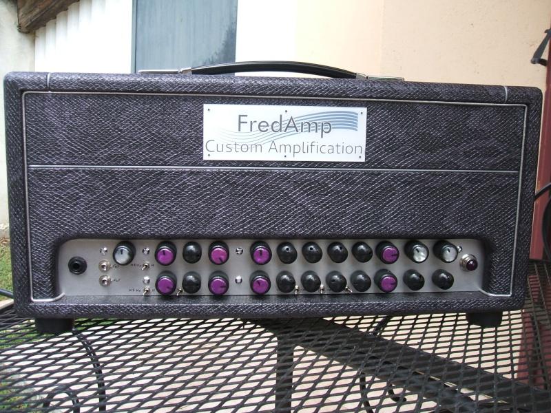 FredAmp Custom Amplification Tête Ultimat Mk1 Dscf0814