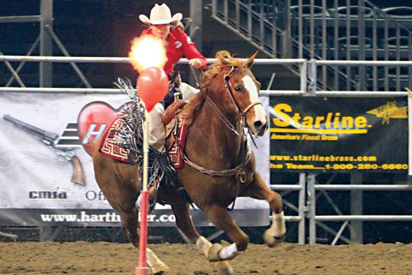 Cowboy Mounted Shooting :)  Kenda_11