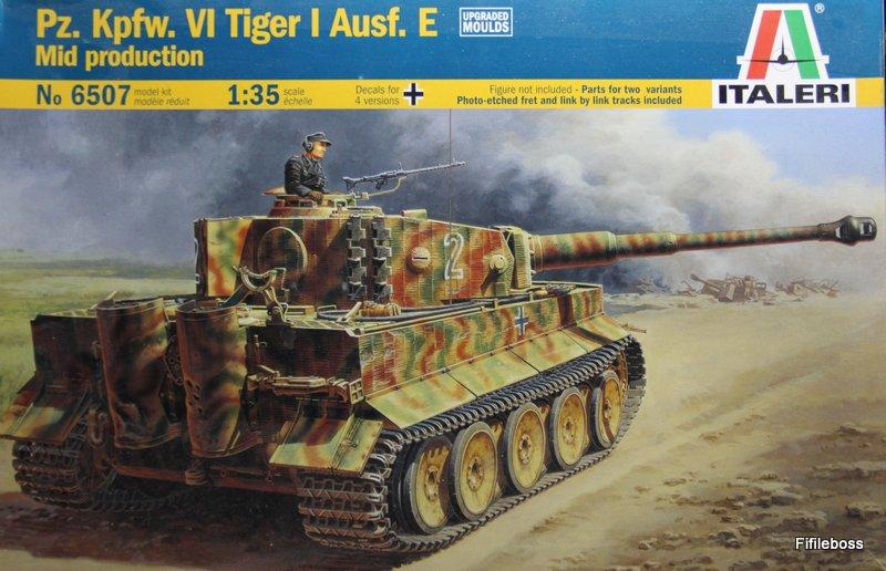 Pz. Kpfw. VI Tiger I Ausf. E Mid prod - 1/35 Italeri Img_0022