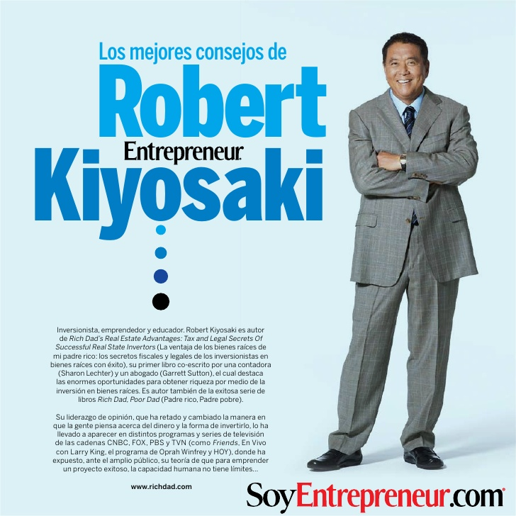 CONSEJOS DE ROBERT KIYOSAKI Kiyosa10