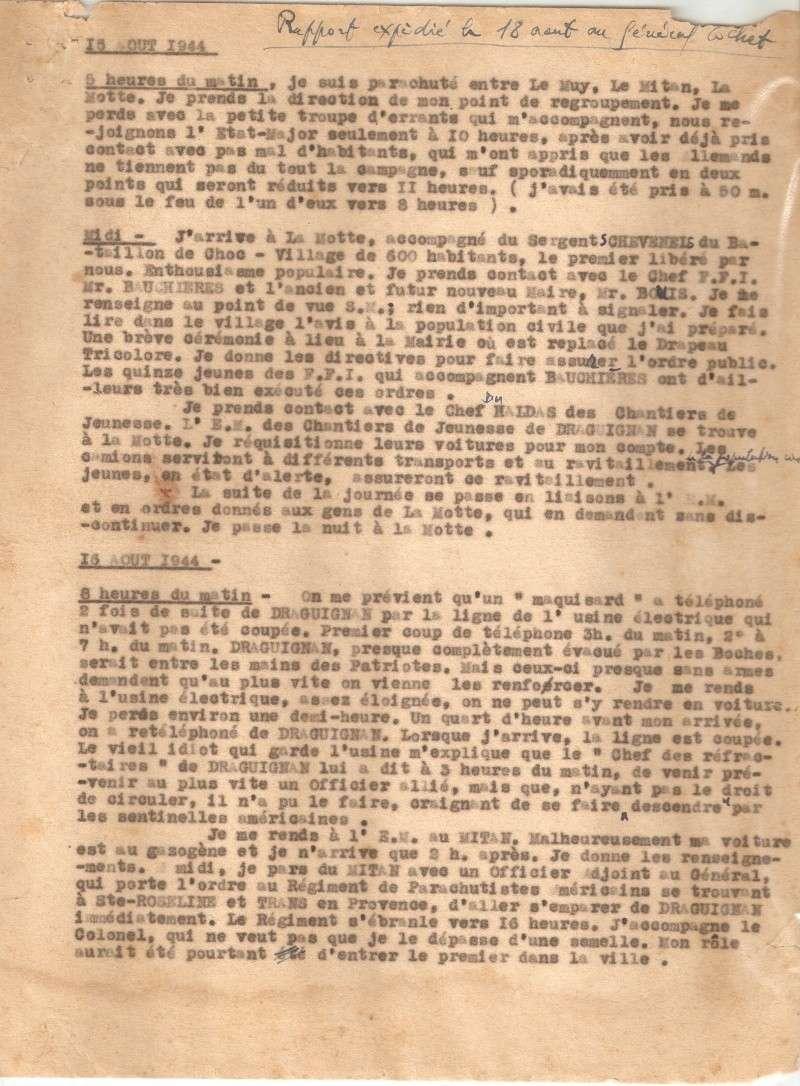 RAPPORT D'OPÉRATION DU PARACHUTAGE EN PROVENCE - Page 2 Numari19