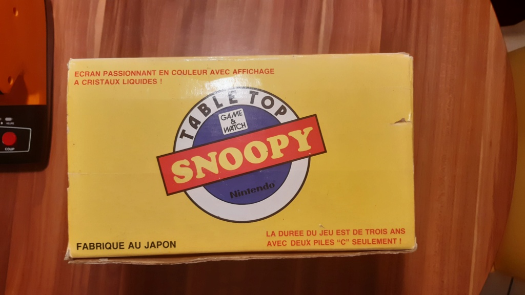 VENDS TABLE TOP SNOOPY 20210216
