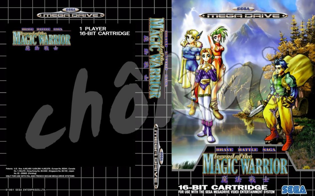 (TEST)  BARVER BATTLE SAGA OU THE LEGEND OF THE MAGIC WARRIOR SUR SEGA MEGADRIVE 28424710
