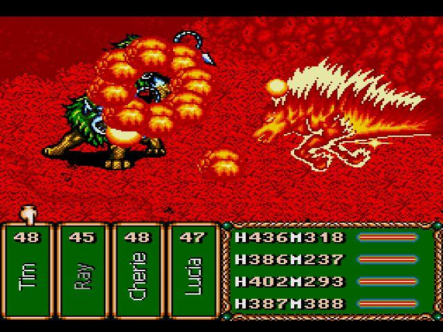 (TEST)  BARVER BATTLE SAGA OU THE LEGEND OF THE MAGIC WARRIOR SUR SEGA MEGADRIVE 28471710
