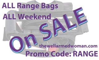Sale on Range Bags at The Well Armed Woman - This weekend only Twaw10