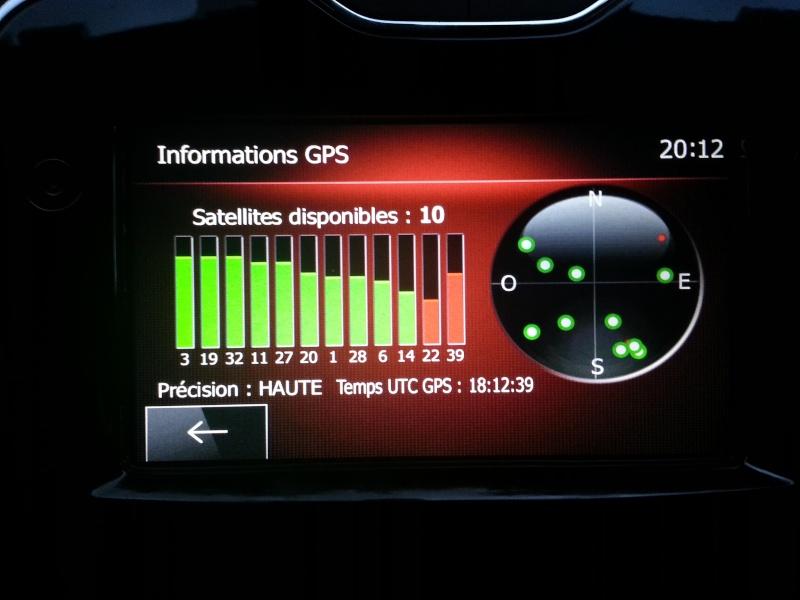 Comment vérifier si la voiture est équipée du GPS... Acran_10