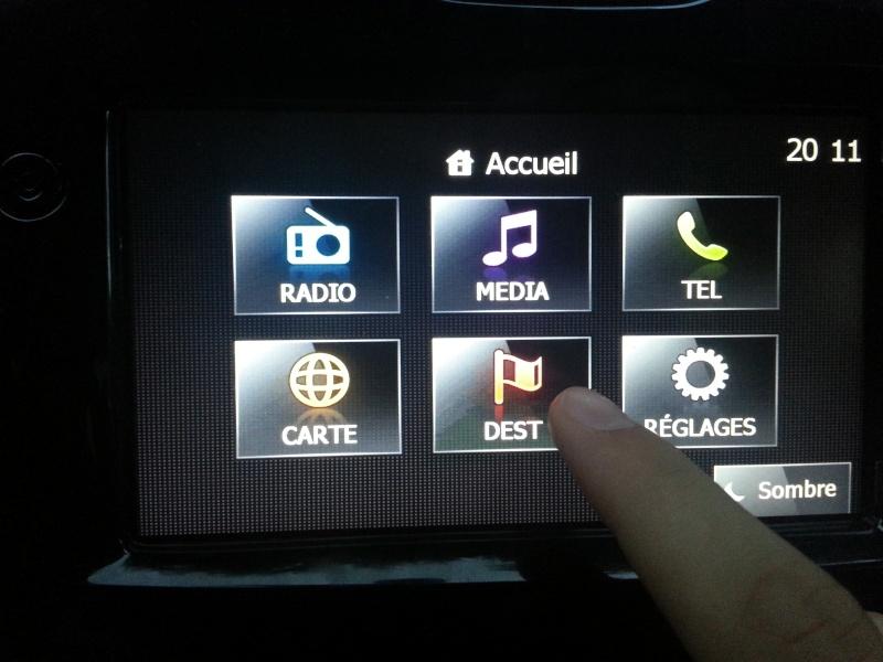 Comment vérifier si la voiture est équipée du GPS... Aller_10