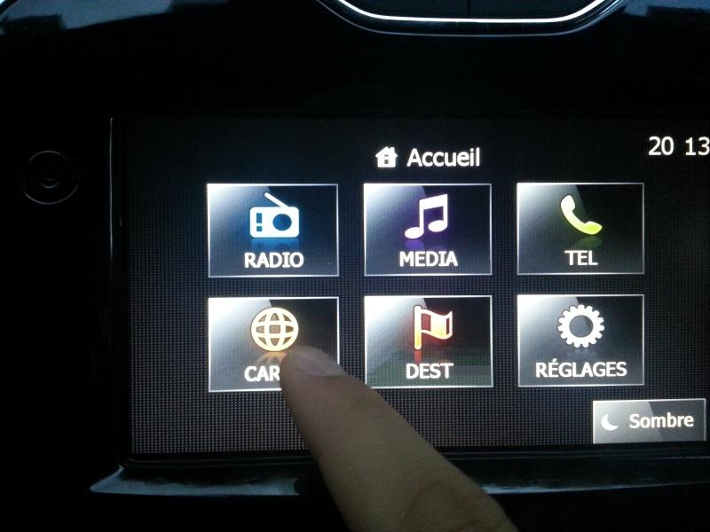 Comment vérifier si la voiture est équipée du GPS... Aller_12