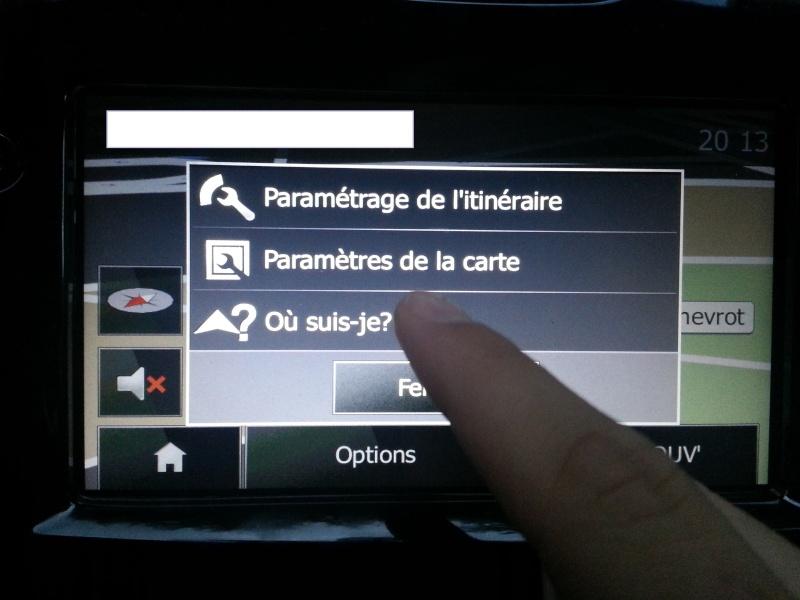 Comment vérifier si la voiture est équipée du GPS... Aller_14