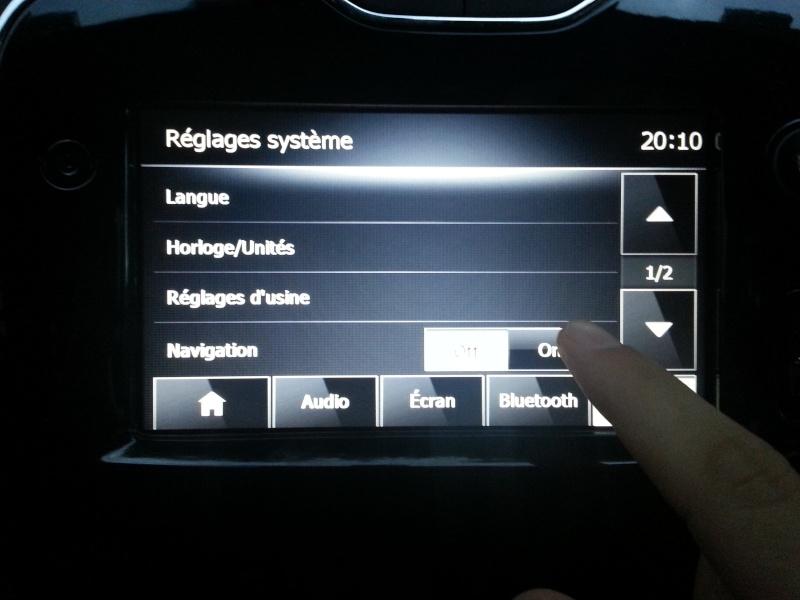 Comment vérifier si la voiture est équipée du GPS... Navi_o10