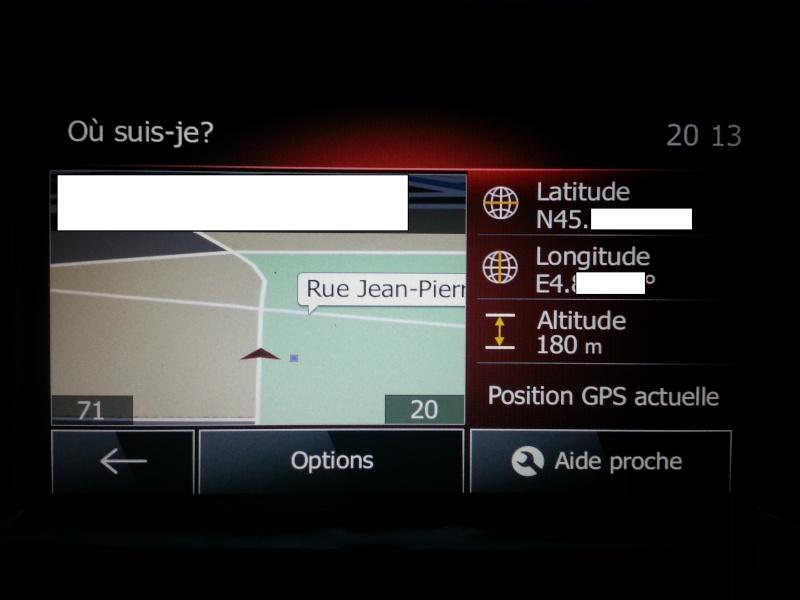 Comment vérifier si la voiture est équipée du GPS... Varifi10