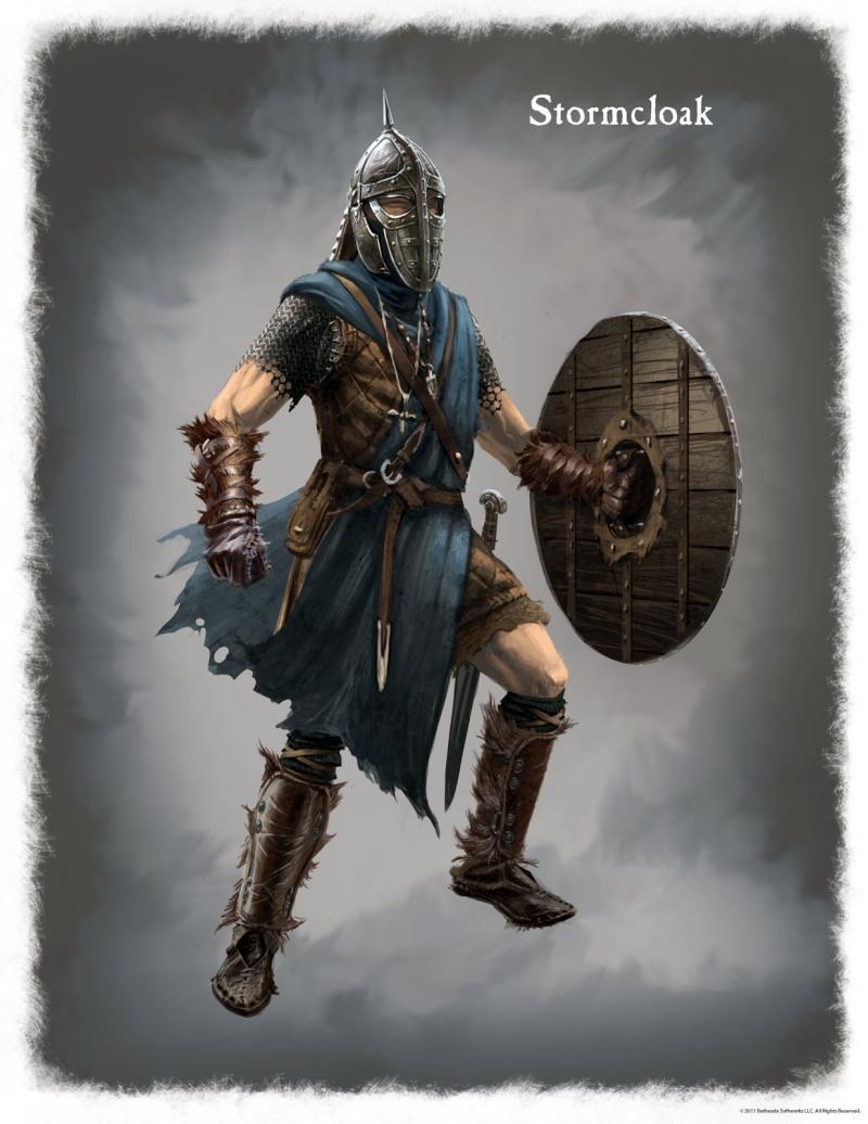 [Costume] Arthur B. -  Mercenaire Agmarite Skyrim13