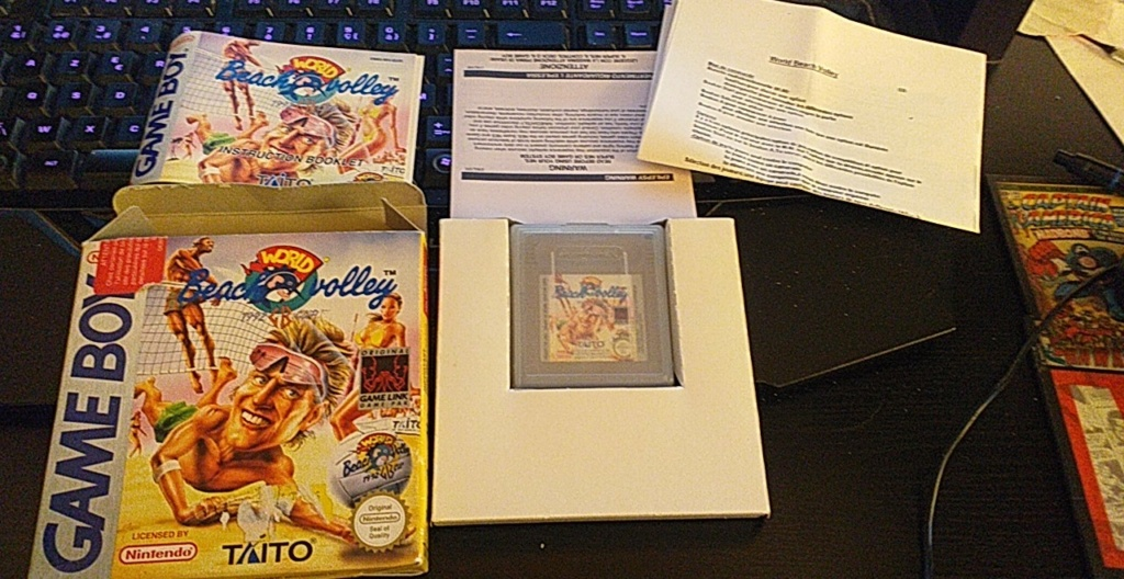 [VDS] jeu game boy world beach volley complet User_s10