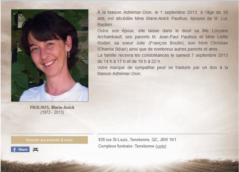 Paulhus, Marie-Anick (1973-2013) Marie_11