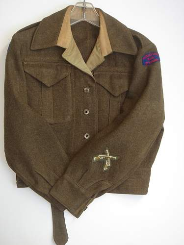 HELP PLEASE: CANADIAN WWII BDs Merged with Locked topic started by servicepubs T110