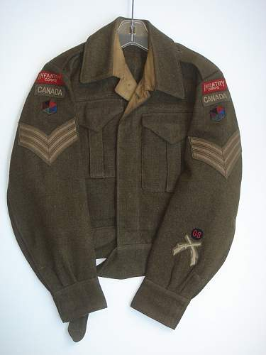 HELP PLEASE: CANADIAN WWII BDs Merged with Locked topic started by servicepubs T210