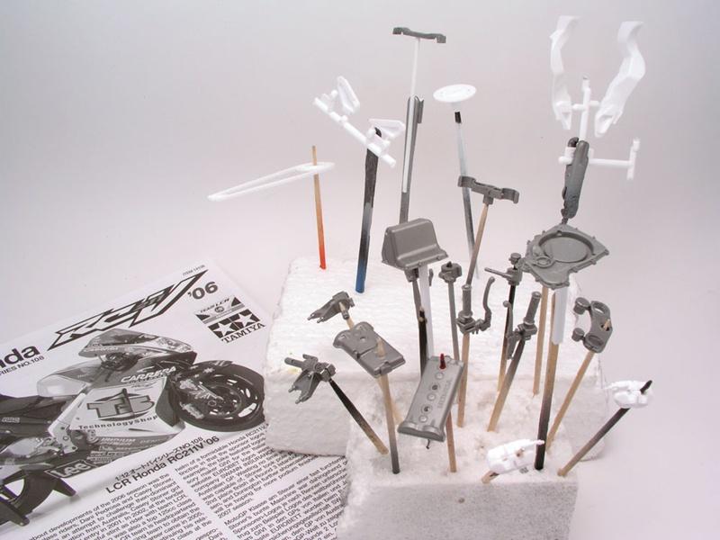 [PEINTURE] Comment donner l'illusion du métal avec les peintures Alclad ! Test11