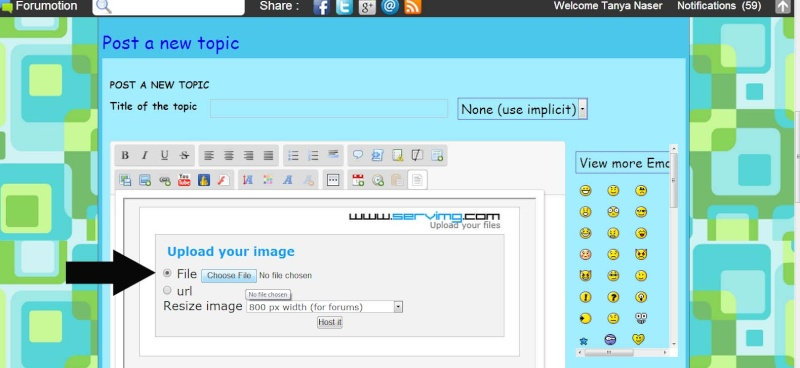 How to HOST an image without photobucket (in 4 simple steps!) Forum_16
