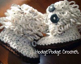 Loopy Baby Boots! Loopbo10