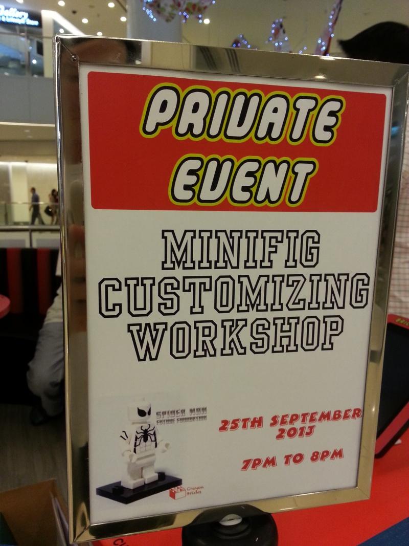 25/9 Minifig Customizing Workshop 20130910