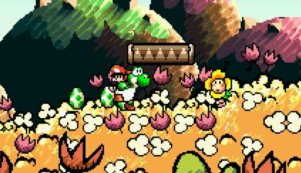 ¿Qué nuevo estilo gráfico le espera a un nuevo (hipotético) juego de Yoshi? Yoshi110