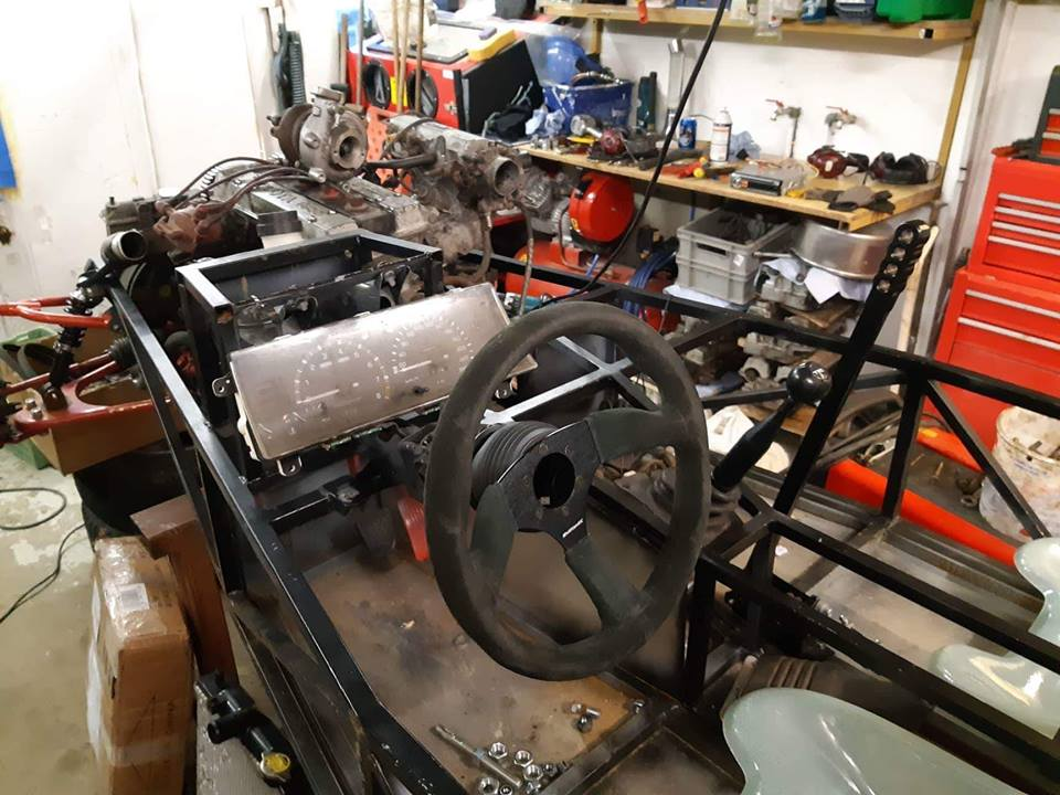 Just another corolla - DIY Caterham frame 7age and ´93 Liftback RWD - Page 9 35512410
