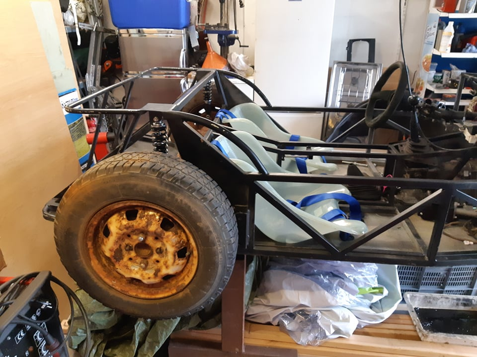 Just another corolla - DIY Caterham frame 7age and ´93 Liftback RWD - Page 9 37149210