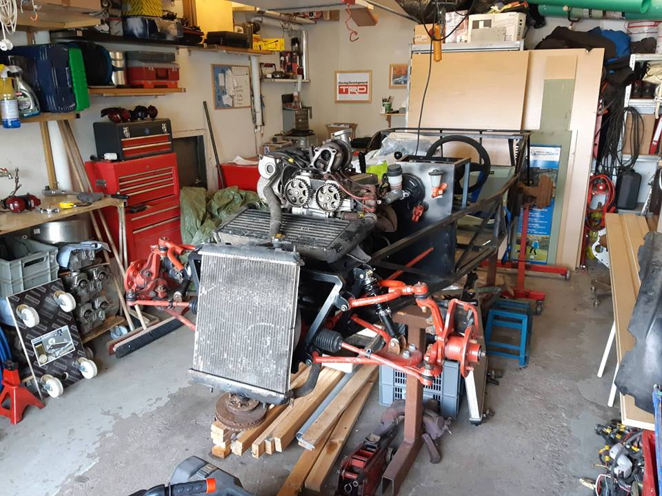 Just another corolla - DIY Caterham frame 7age and ´93 Liftback RWD - Page 9 37251610