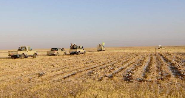 اللواء السابع للحشد يشرع بعملية تأمين مناطق الثرثار ضمن عملية اسود الجزيرة  5-20-610