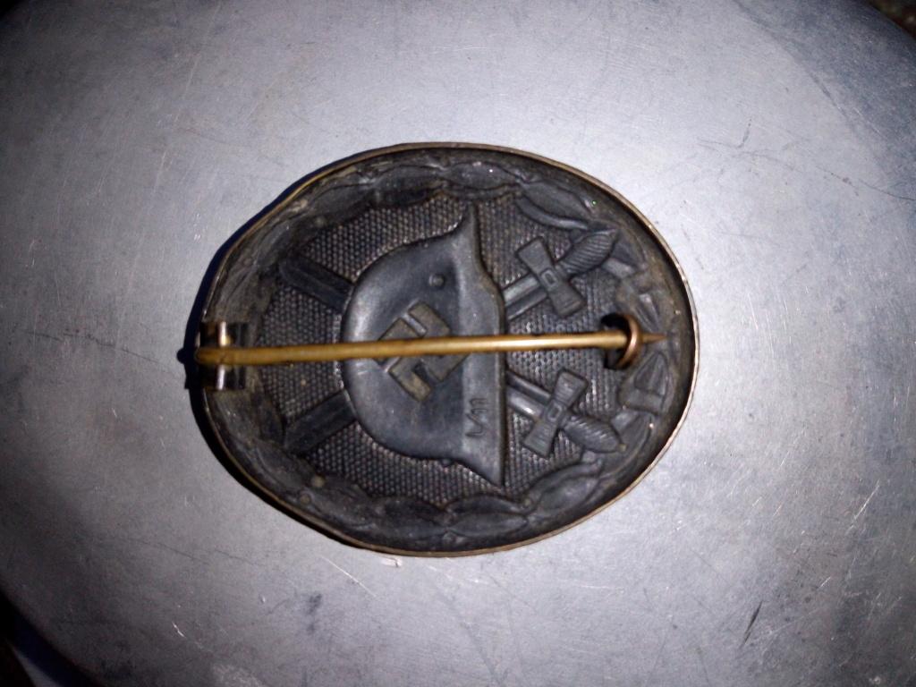 Badge blessé allemand WW2 authentique ? Img_2075