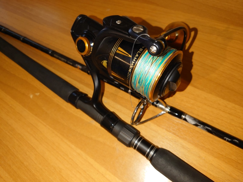 [vendo][usato] combo spinning al tonno, Abu Garcia tuna special + Penn Slammer III 6500 Dsc_0626