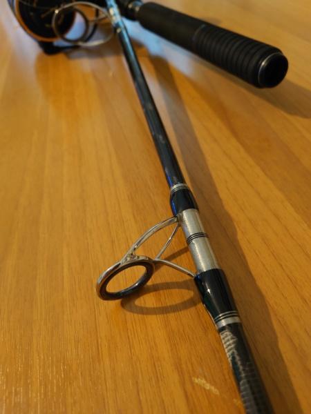 [vendo][usato] combo spinning al tonno, Abu Garcia tuna special + Penn Slammer III 6500 Dsc_0629