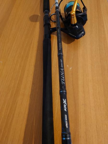 [vendo][usato] combo spinning al tonno, Abu Garcia tuna special + Penn Slammer III 6500 Dsc_0631