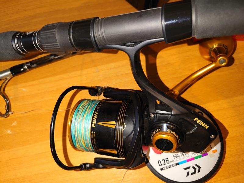 [vendo][usato] combo spinning al tonno, Abu Garcia tuna special + Penn Slammer III 6500 Dsc_0712